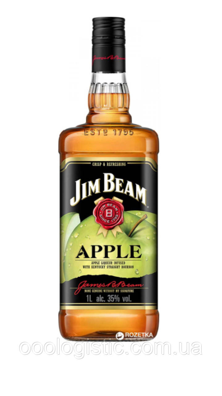 Виски Jim Beam 1 литр APPLE, duty free