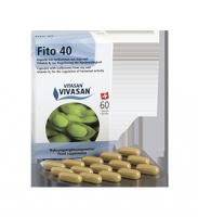 Фито 40 (изофлавоны сои в капсулах) при климаксе, нормализует гормональный фон