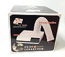 Маникюрная вытяжка настольная с фильтром Dust Collector 60Вт Strong 2.0 голубой, фото 4
