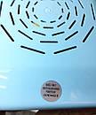 Маникюрная вытяжка настольная с фильтром Dust Collector 60Вт Strong 2.0 голубой, фото 6