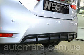 Задний диффузор Toyota Corolla (2013+)