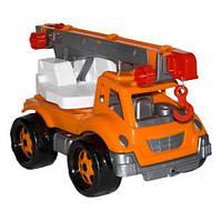 Іграшка Автокран ТехноК, арт. 4562 /4/ оранжевый.  sco