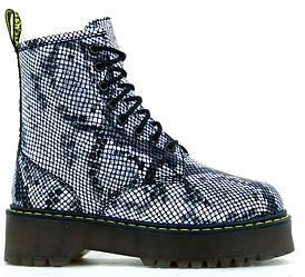 Зимние ботинки Dr. Martens JADON (Premium-class) натуральный мех