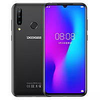 "Doogee N20, супер смартфон 6.3"" FHD+ Helio P23 - 4\64 ГБ - три камеры! Батарея 4350 мАч. Цвет черный"