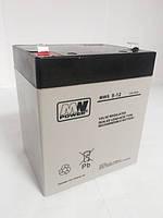 Аккумуляторная батарея аккумулятор MWS 12В 5Ач(4,5Ач)