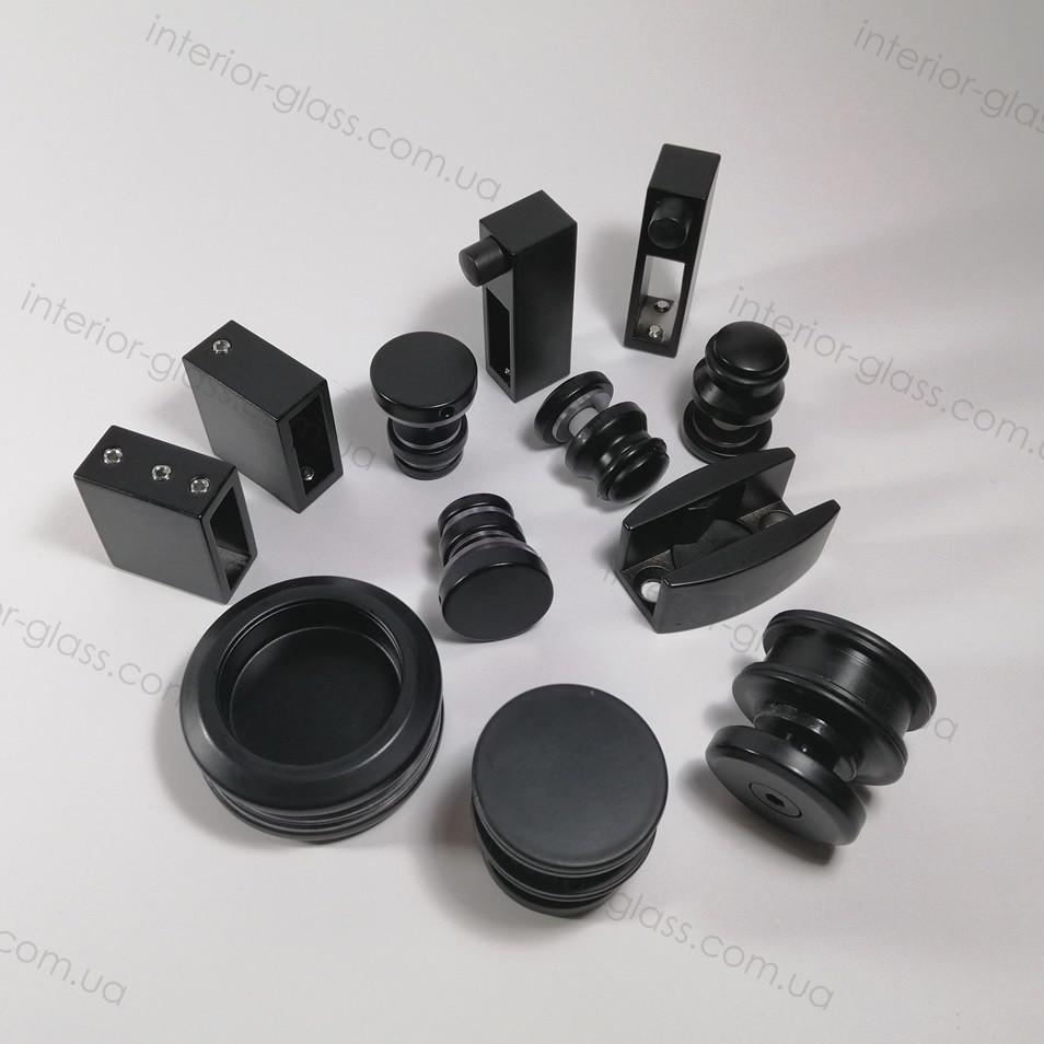Раздвижная система для душевой ST-301 черный матовый