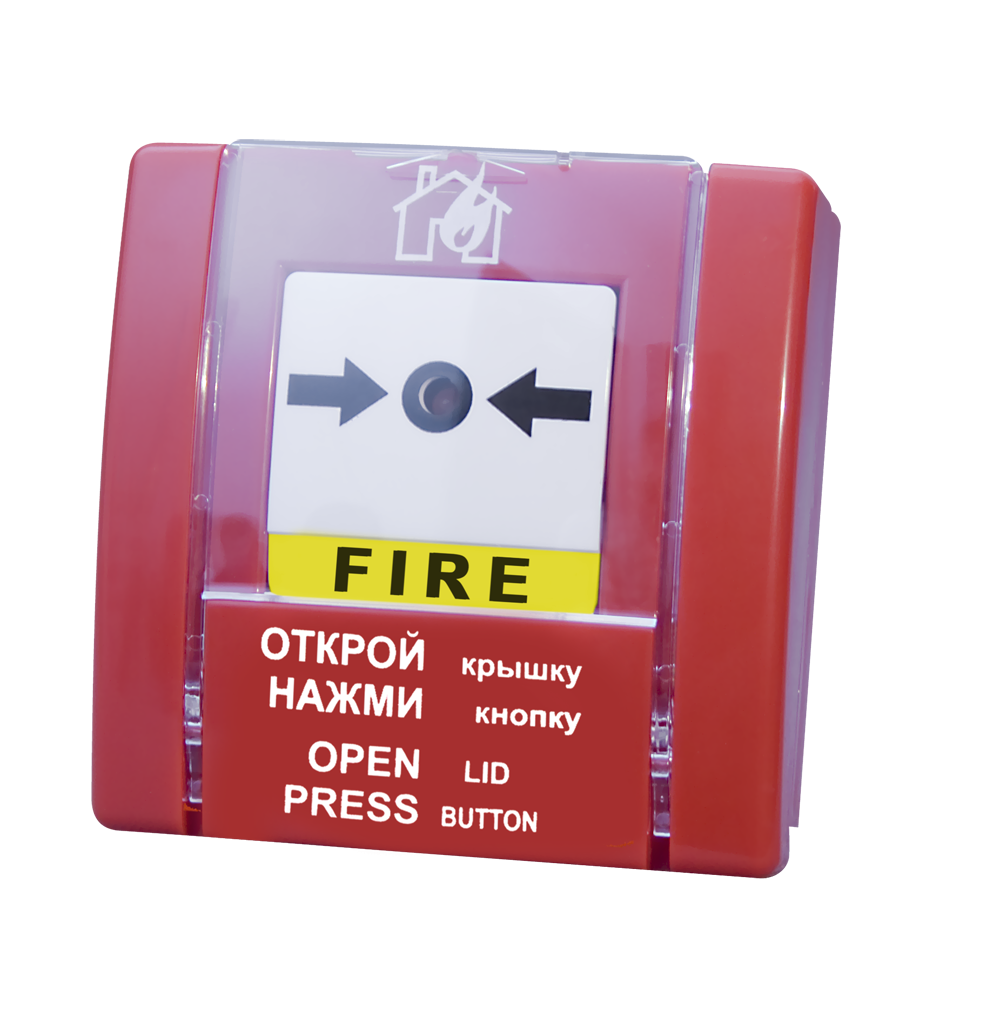 Извещатель пожарный ручной SPR-1L (СПР-1)