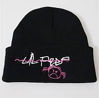 Шапка Lil Peep черная c изображением Original Collection