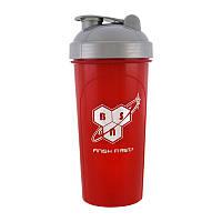 Шейкер для спортивного питания BSN Shaker Red/Grey 700 мл Красный