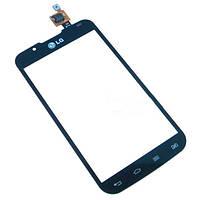 Тачскрин для LG P715 Optimus L7 II черный High Copy