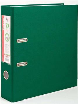 Папка сегрегатор 7см тёмно-зелёный DATUM