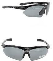 Поляризованные очки RockBros со сменными линзами, черные