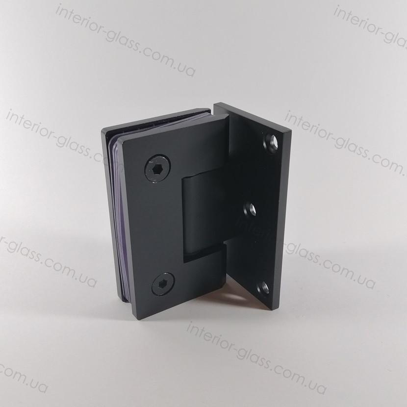 Петля душевая на стену HDL-305 BLK черная матовая