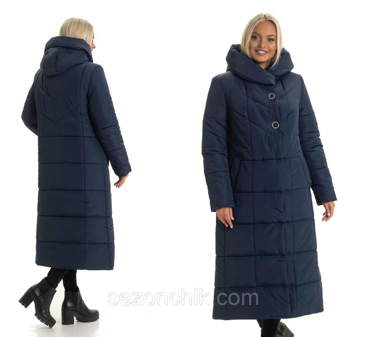 Зимнее женское пальто хорошего качества