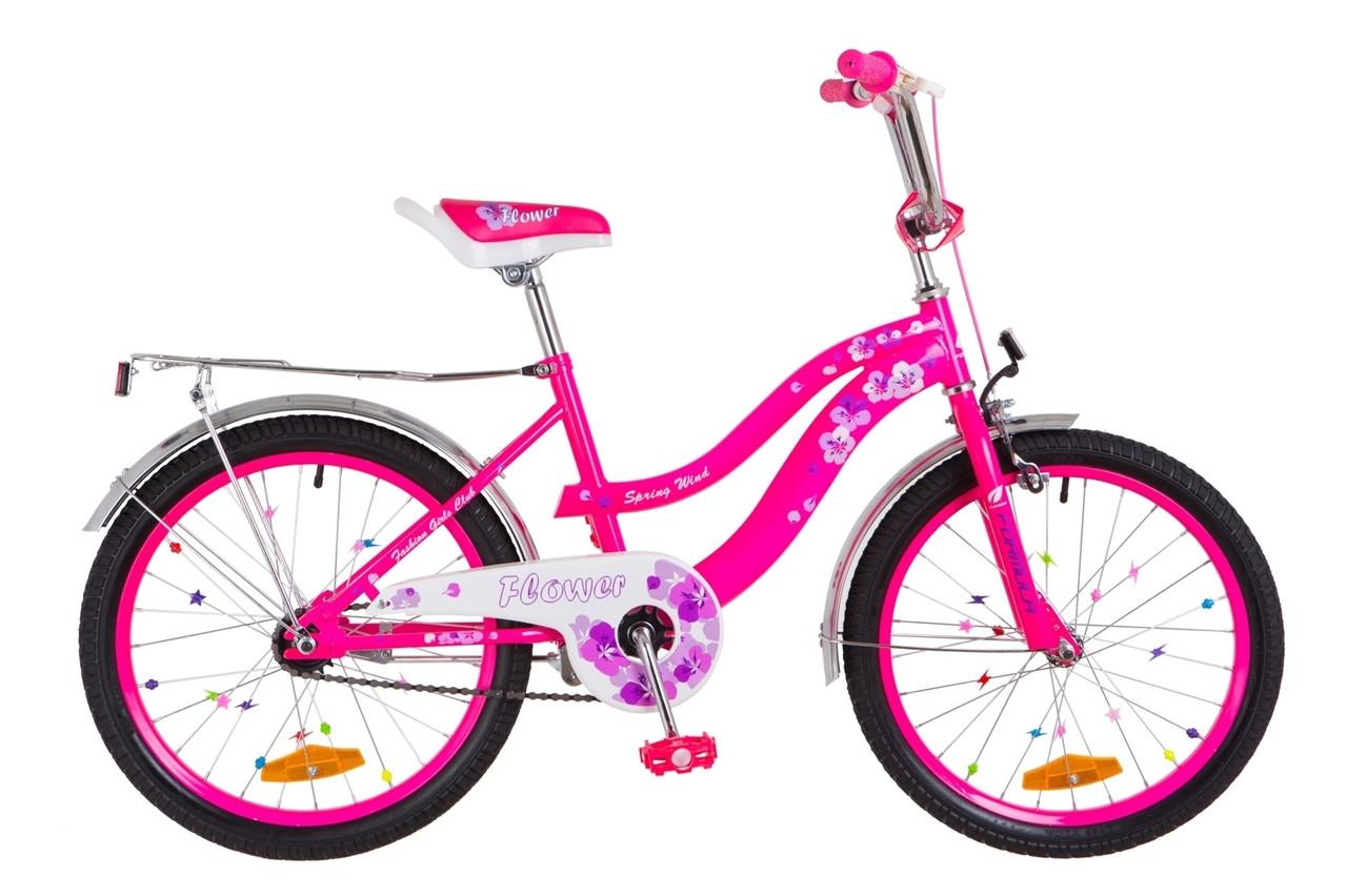 """Велосипед детский 20"""" Formula FLOWER 2018 (розовый)"""