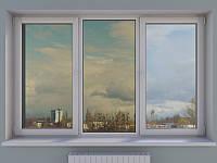 Окна тонированные