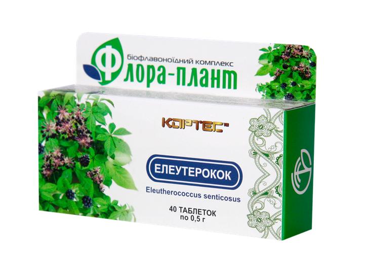 Элеутерококк №40, «Флора Плант»