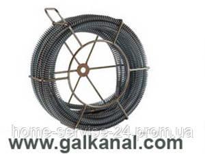 Стандартная спираль  для прочистки канализации - Галканал в Львове