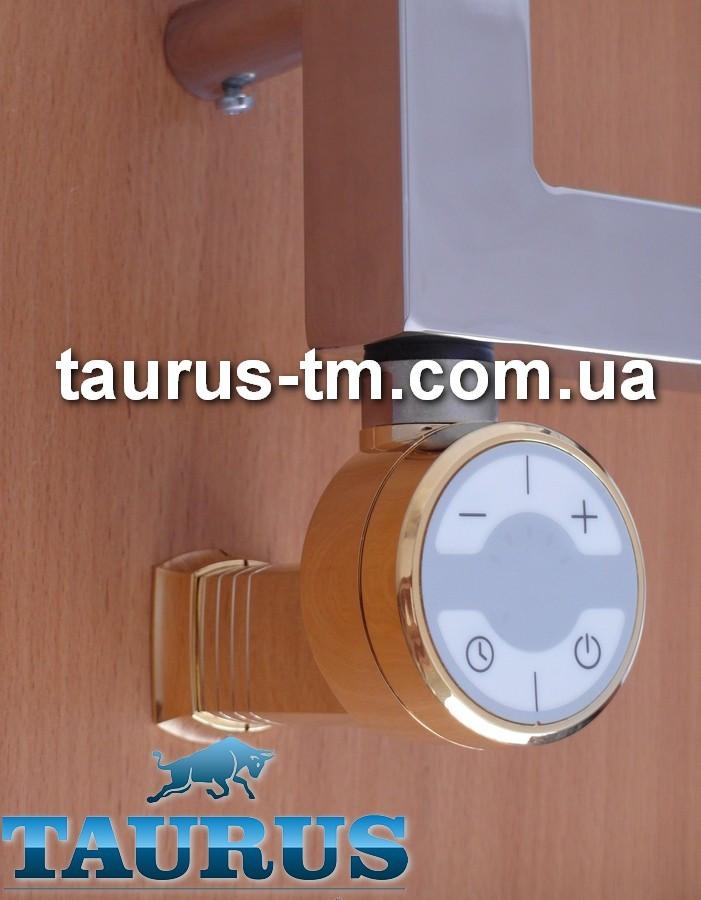 Золотой ТЭН TERMA MOA MS Gold с маскировкой провода + регулятор 30-65С + таймер 2ч. + LED. Мощность: 120-1000W