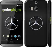 "Чехол на HTC One M8 Mercedes Benz 1 ""974c-30"""