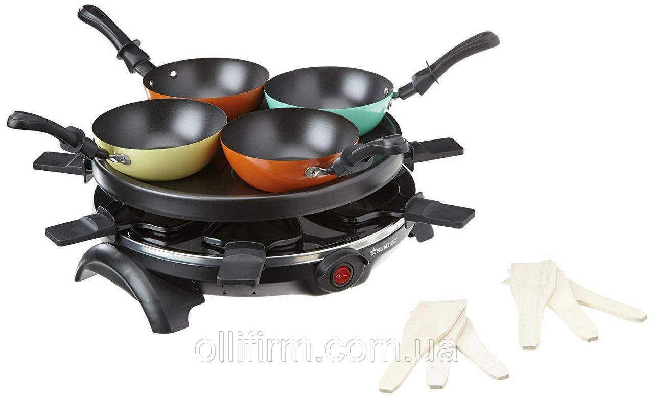 Электроплита Suntec Wok raclette 9370