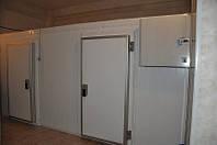 Холодильная камера для хранения, охлаждения и заморозки рыбы