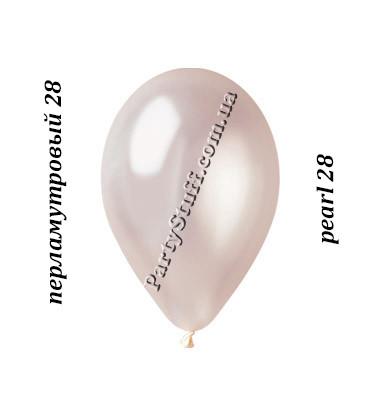 Воздушные шарики Gemar GM90 металлик ПЕРЛАМУТРОВЫЙ 10' (26 см)