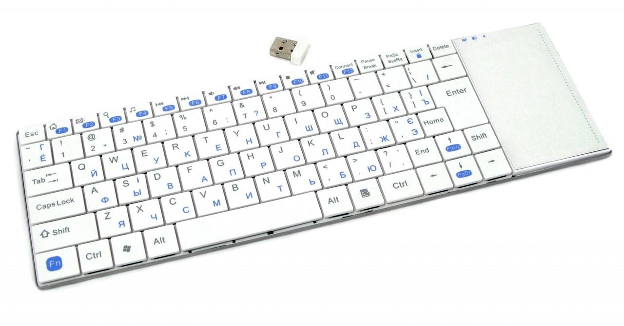 Клавиатура Gembird KB-P4-W-UA