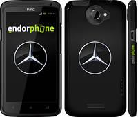 "Чехол на HTC One X Mercedes Benz 1 ""974c-42"""