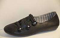 Туфли CANOA B 4523 чёрные с 36 по 41 размеры