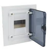 Щит распределительный в/у с прозрачными дверцами, 4 мод. (1х4), GOLF