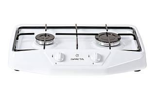Настольная 2-х горелочная плита Greta 1103 белая