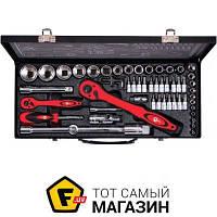 Автомобильный набор Intertool Профессиональный набор инструмента, 56пр. (ET-6056)