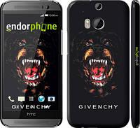 "Чехол на HTC One M8 Givenchy ""838c-30"""