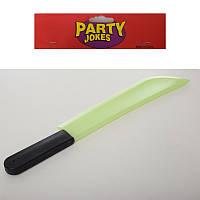 Аксессуары для праздника MK 3475-1  53см,меч,светится в темноте,в кульке, 15-59-2см