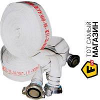 Шланг для пожарных кранов Forte 36754 75мм, 20м с гайками