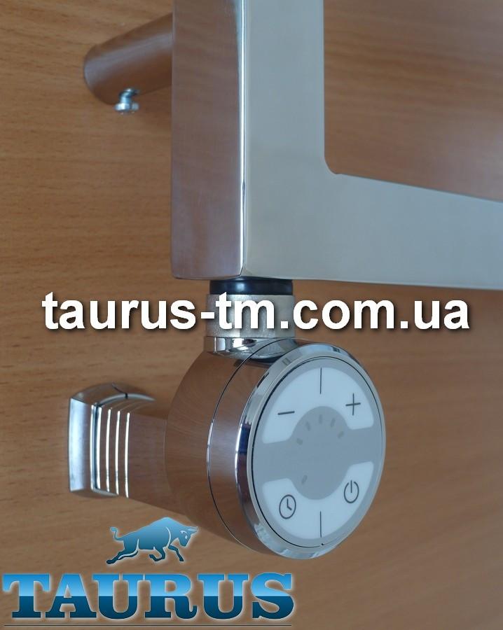 ЭлектроТЭН MOA MS chrome: регулятор 30-65С + таймер 2 ч. +маскировка провода, для полотенцесушителя Польша 1/2