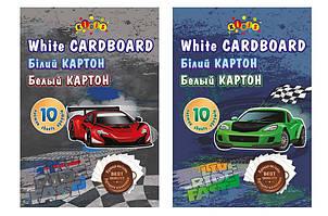Картон білий Kidis А4 10 аркушів RIDE FAST