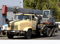 Аренда автокрана КС-3575А (Грузоподъемность 10т)