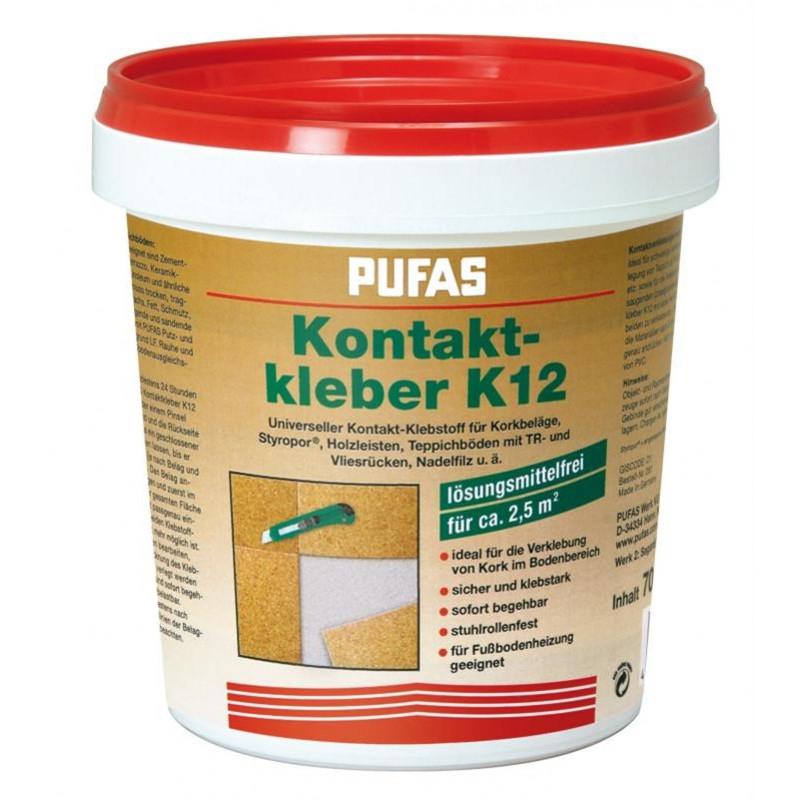 Клей контактный для бамбуковых обоев PUFAS KONTAKTKLEBER K 12, 2,5кг - Элементы декора и отделочные материалы в Киеве