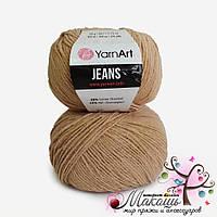 Пряжа Джинс Jeans YarnArt, №87, беж