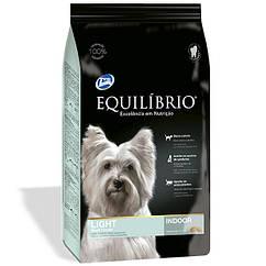 Сухой корм Equilibrio (Эквилибрио) Dog ЛАЙТ низкокалорийный корм для собак мини и малых пород (курица) 2 кг