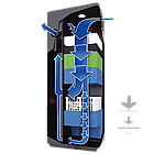 Внутренний фильтр Juwel Bioflow 3.0 для аквариума 80 - 240 л. (87050), фото 3