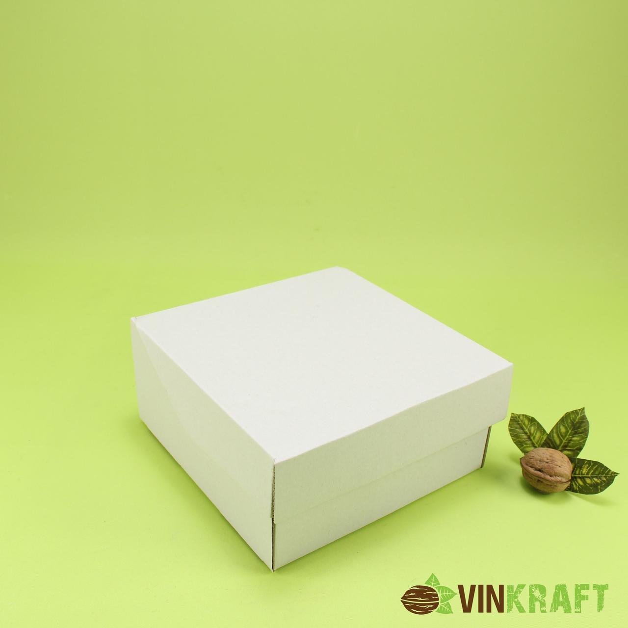 Коробка 177*165*83  для печива та цукерок , гофракартон