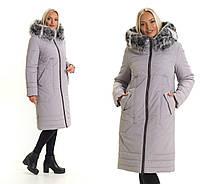Зимние куртки женские с натуральным мехом на капюшоне