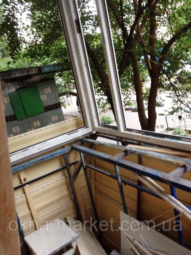 Балконы с выносом в Киеве