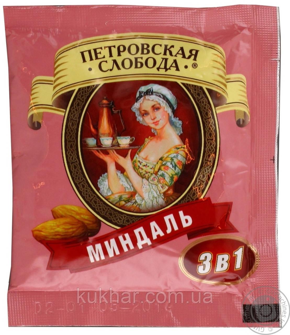 """Кава """"Петровська слобода"""" 3в1 Мигдаль 20г"""