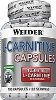 Жиросжигатель Weider L-Carnitine 100 caps
