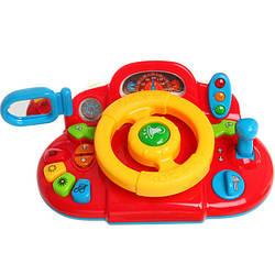 Автотренажер 7317 Я тоже рулю музыкальная детская игрушка