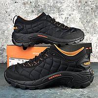 Мужские зимние кроссовки Merrell Ice Cap Moc 2 Black\Orange (Original)
